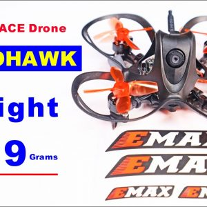 EMAX NANOHAWK - So Small yet so powerful - Indoor Race Drone
