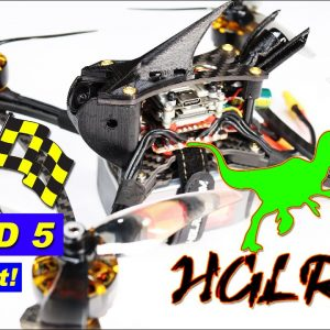 FASTEST RACE DRONE? HGLRC Wind 5 - Yes, I crashed it into a tree at over 60 MPH!