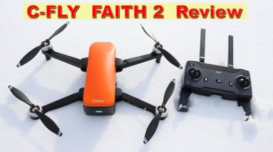 The new C-FLY Faith 2 Pro Drone is here!  Full Review