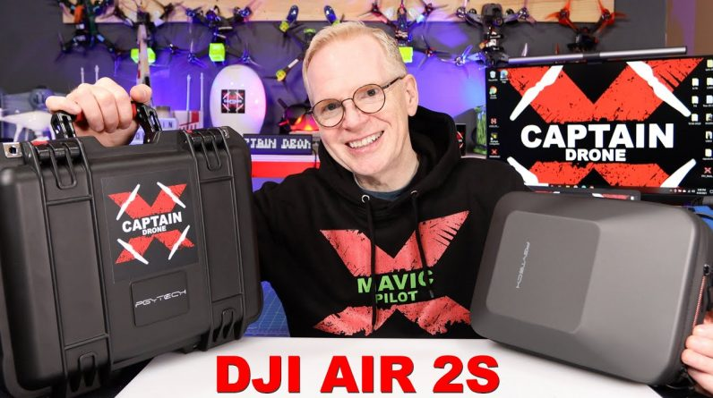 DJI Air 2S - Two great low cost Hard Cases - PGYTECH