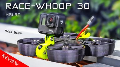 HGLRC RaceWhoop 30 is an FPV Race drone built like a Tank!
