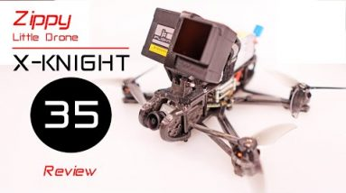 The X-Knight 35 is a Zippy Little FPV Drone - Review