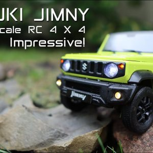Love this RC Crawler! Highly Detailed Suzuki Jimny 1/12th scale 4x4 - Review