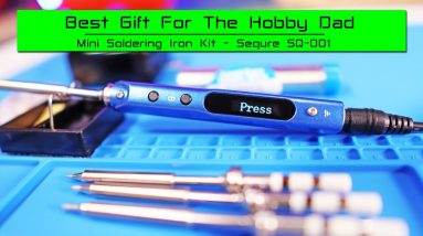 Best Christmas Gift for the RC Hobby Dad - Mini Soldering Iron Kit - SEQURE SQ-001