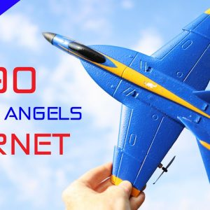 This Plane is Fun and Simple to Fly - A190 Blue Angels Hornet - Review