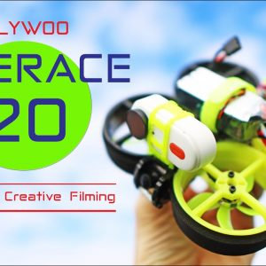 The new FLYWOO CINERACE 20 Drone - Perfect for creative filming
