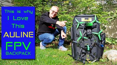 This is why I LOVE this FPV Backpack by AULINE