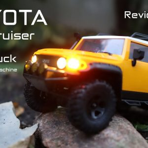 This Toyota FJ Cruiser is an RC Truck by FMS & Eachine - Review